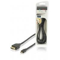 HQ câble HDMI® Haute Vitesse avec Ethernet connecteur HDMI® - micro connecteur HDMI® 1.50 m