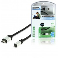 CABLE HDMI® HAUTE VITESSE VERS MICRO HDMI® AVEC ETHERNET KÖNIG - 0.75m