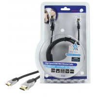 CABLE HDMI HIGH SPEED AVEC ETHERNET - 1.5m