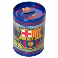 CYP BRANDS - Tirelire en métal FC Barcelone 10 cm