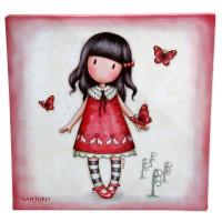 SANTORO LONDON - Gorjuss Time To Fly toile décoration toile papillon