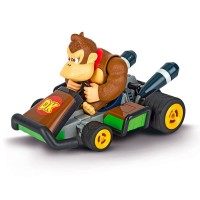 CARRERA - Coche Mario Kart Nintendo Race Kart Donkey Kong