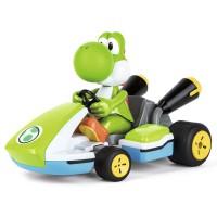 CARRERA - Coche Mario Kart Nintendo Race Kart Yoshi sonido