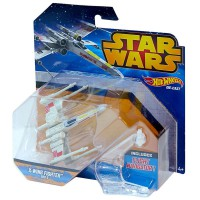HOT WHEELS - Hot Wheels Star Wars X-Wing Fighter ROUGE 5 véhicules