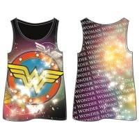 WARNER BROS. - COMIC / SUPERHERO WONDER WOMAN DC Comics Wonder Woman Logo T-Shirt pour Adulte