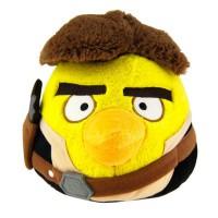 ROVIO ENTERTAINMENT - Han Solo Peluche Angry Birds Star Wars 13cm