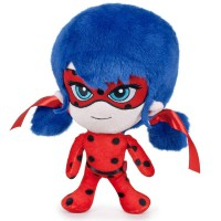 PLAY BY PLAY - Lady Bug–Peluche, 27cm (Famosa 760015421)