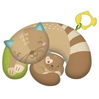 CLEMENTONI - Kutty Cat oreiller ventre