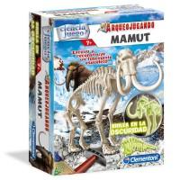 CLEMENTONI - Jeu d'archéologie fluorescente Mammoth
