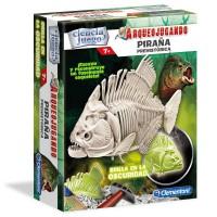 CLEMENTONI - Piranha fluorescent Archaeology jeu