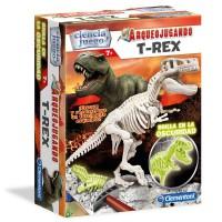 CLEMENTONI - Jeu d'archéologie fluorescente T-Rex
