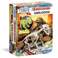 CLEMENTONI - Smilodon fluorescent Archaeology jeu
