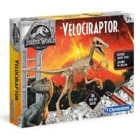 CLEMENTONI - Jeu Jurassic World Archeology Velociraptor