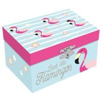 KIDS LICENSING - Ressemble à une boîte à bijoux Flamingos