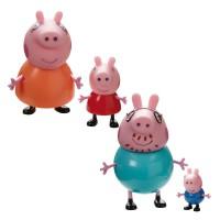 BANDAI - Peppa Pig Family Assortiment de blister