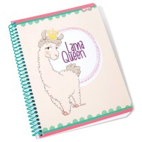 NICI - Cahier Nici Llama Queen A5