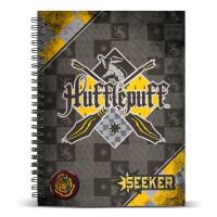 KARACTERMANIA - Cahier de notes A5 pour Poufsouffles Quidditch Harry Potter