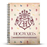 KARACTERMANIA - Harry Potter Poudlard A5 cahier