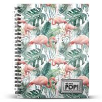 KARACTERMANIA - Cahier Oh My Pop Tropical Flamingo A5