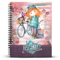 KARACTERMANIA - Carnet Ninette Bicycle A5