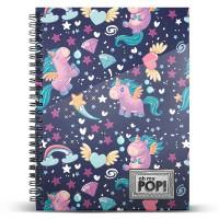 KARACTERMANIA - Cahier Oh My Pop Magic A4