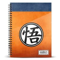 KARACTERMANIA - Cahier A4 symbole Dragon Ball