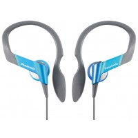 Panasonic casque tour d'oreille waterproof bleu
