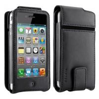 Belkin etui cuir pour iPhone 4 et 4S F8Z853C