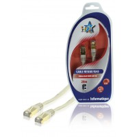 CABLE RESEAU RJ45 CAT5E 20M HQ