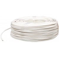 Valueline 4-conductors round telephone cable on reel 100 m white
