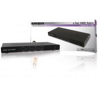 König commutateur matrice HDMI 4x 4 ports