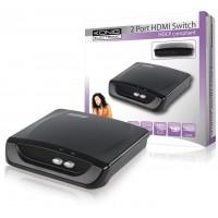 König commutateur HDMI® 2 ports