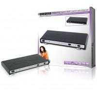 König commutateur HDMI haute vitesse 4 ports avec Ethernet et canal de retour audio