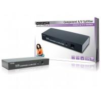 König répartiteur audio/vidéo component 4 ports