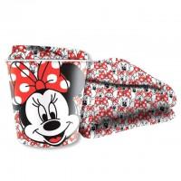 CORIEX - Couverture Disney Minnie + conteneur