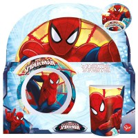 STOR - Ensemble de mélamine Marvel Spiderman