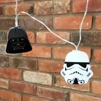 GROOVY - Guirlande lumineuse 2D Star Wars Darth Vader & Stormtrooper