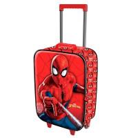 KARACTERMANIA - Marvel Spiderman 3D valise trolley 2 roues 52cm