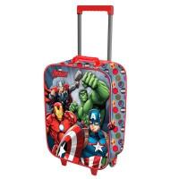 KARACTERMANIA - Valise Trolley 3D Marvel Avengers 2 roues 52cm
