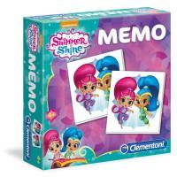 CLEMENTONI - Shimmer and Shine Memo jeu.
