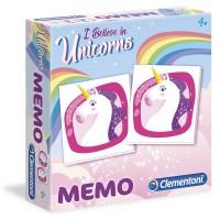 CLEMENTONI - Unicorns Memo jeu
