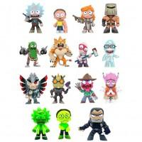 FUNKO - Assortiment de figurines mystères Rick & Morty série 2 Exclusive