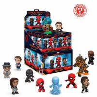 Lot de 12 - FUNKO - Assortis Minis Mystères Marvel Spiderman Loin De La Maison