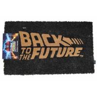 SD TOYS - Paillasson logo Retour vers le futur