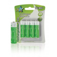 HQ batteries NiMH AA ready-2-use