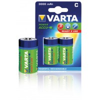 BATTERIES R14 POWER PLAY VARTA