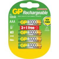 GP Ni-MH rechargeable AAA micro penlite battery 1.2 V 1000 mAh
