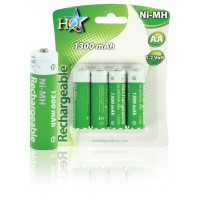 HQ batteries NIMH AA 1.2V 1300 MAH