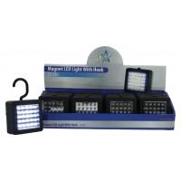 HQ torche LED magnétique avec crochet
