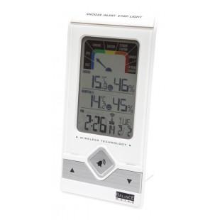 5500 station meteorologique balance horloge radiocommand e temp rature int rieure avec. Black Bedroom Furniture Sets. Home Design Ideas